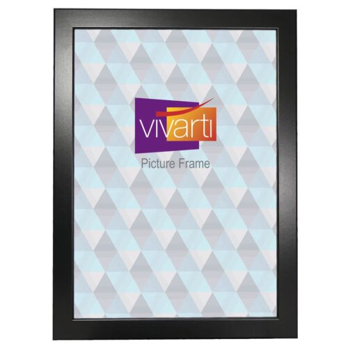 Standard Black Ash MDF Ready Made Picture Frame