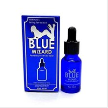 Blue Wizard Women Sex Drops Spanish Fly Liquid Enhancer - 15ml