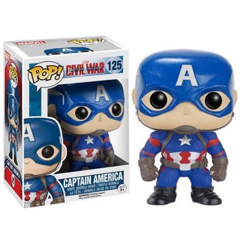 Funko - POP! Marvel: Cap America 3 - Captain America