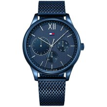 Tommy Hilfiger Damon Men's Watch TH1791421 Blue, New with Tags, 2 Years Warranty