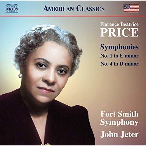 Fort Smith Symphony - Price: Symphonies 1 and 4 [Fort Smith Symphony; John Jeter] [Naxos: 8559827] [CD]