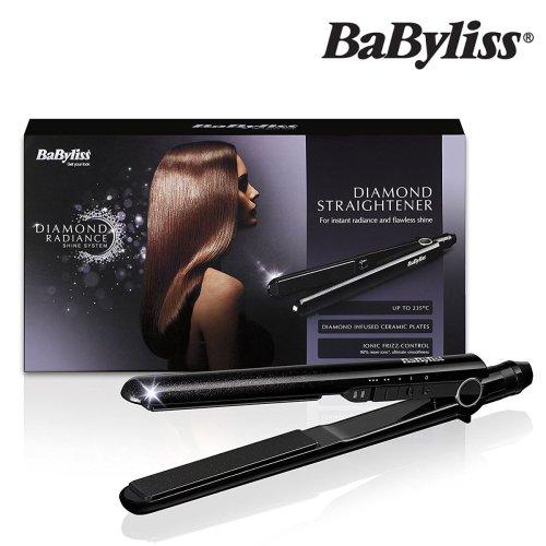 Babyliss Styler 2098DU Diamond Radiance Ceramic Barrel Hair Straightener Curler