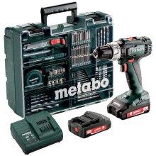 Metabo SB 18 L Akku-Schlagbohrmaschine 18 V 2 Ah Li-Ion incl. 2. rechargeable battery