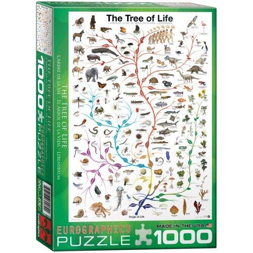 Eg60000282 - Eurographics Puzzle 1000 Pc - the Tree of Life