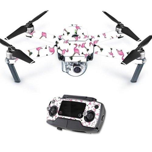 MightySkins DJMAVPRO-Cool Flamingo Skin Decal Wrap for DJI Mavic Pro Quadcopter Drone Cover Sticker - Cool Flamingo