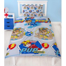 PAW Patrol Super Pups Reversible Single Duvet Cover Set