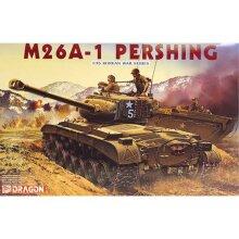 Dragon 6801 M26A-1 Pershing Tank 1:35 Plastic Model Tank Kit