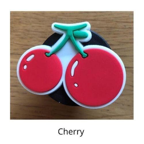 (Cherry) mobile phone holder Socket Finger grip Stand UK