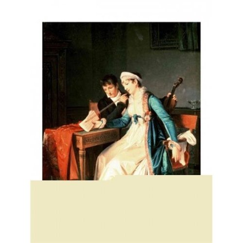 The Music Lesson 1790 Poster Print by Francois Gerard - 24 x 36 in. - Large