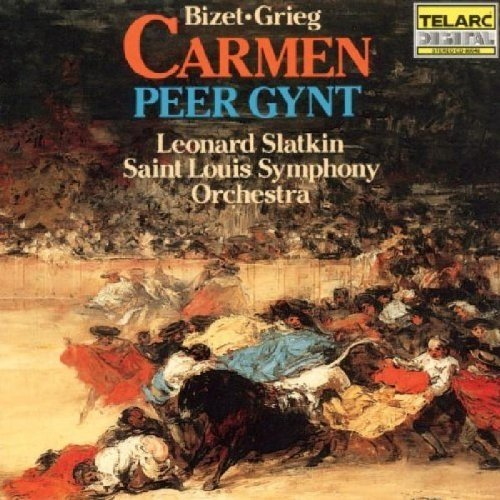 Leonard Slatkin - Bizet: Carmen Suite; Grieg: Peer Gynt Suite [CD]