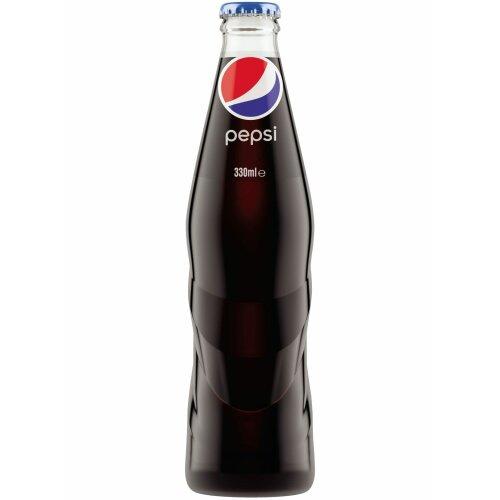 Pepsi Cola regular (330 ml ) glass bottles