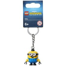 LEGO Minions Otto Minifigure Keychain 854043
