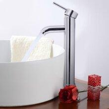 Mono Mixer Tap 30cm Tall Single Handel Bathroom Sink Basin Faucet
