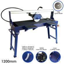 T-Mech Wet Saw Tile Cutter Stand Bench Table Diamond Blade / 1200mm