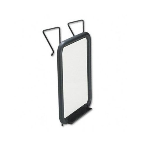 Safco 4160 Wall Rack- Two Ball-Tipped Double-Hooks- Metal- Chrome