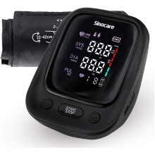 Sinocare Blood Pressure Monitor UZ0 With Easy Cuff 22-42cm - Provide battery