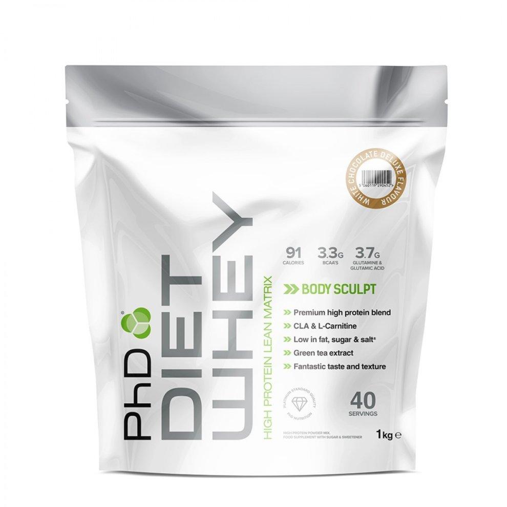 (Belgian Chocolate) PhD Nutrition Diet Whey Protein 1kg
