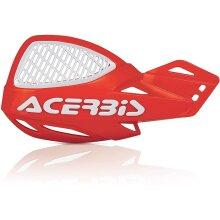 Acerbis 9846.01 Vented Uniko Handguards, Red