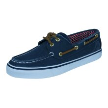 Sperry Bahama Womens Deck / Canvas Boat Shoes - Navy Size 3.5