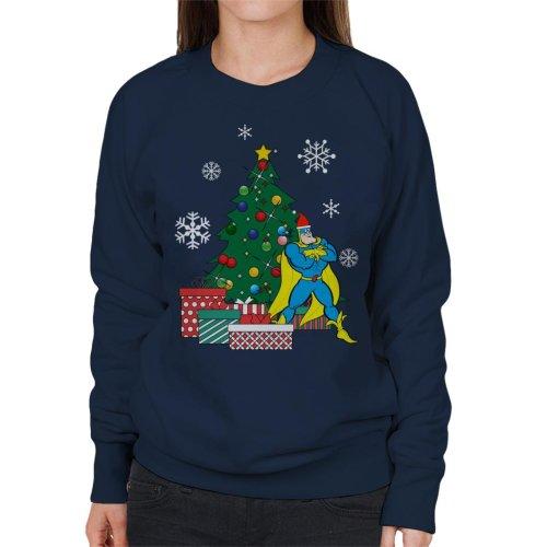Bananaman Around The Christmas Tree Women's Sweatshirt