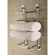 Bristan COMP TSTACK1 C Towel Stacker - Chrome