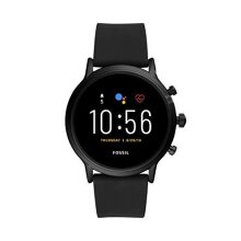 Fossil Men's GEN 5 Touchscreen Connected Smartwatch with Silicone strap FTW4025