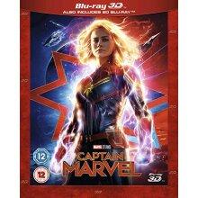 captain marvel 3d blu ray