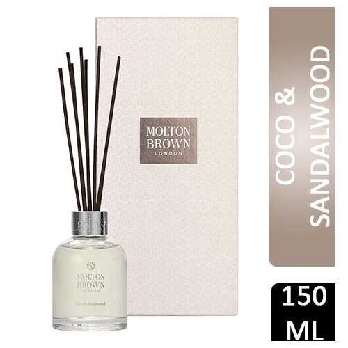 MOLTON BROWN DIFFUSER EIGHT REEDS COCO & SANDALWOOD AROMA REEDS 150ML