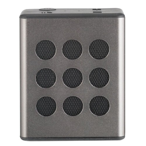 Bush Aluminium Bluetooth Wireless Speaker - Silver - Refurbished