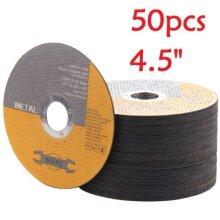 """50X 115MM 4.5"""" METAL CUTTING BLADE DISC STAINLESS STEEL ANGLE GRINDER"""