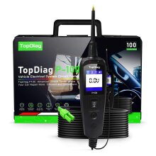 JDiag Power Pro P100 New Generation Automotive Electrical Circuit System Tester for Cars and Trucks