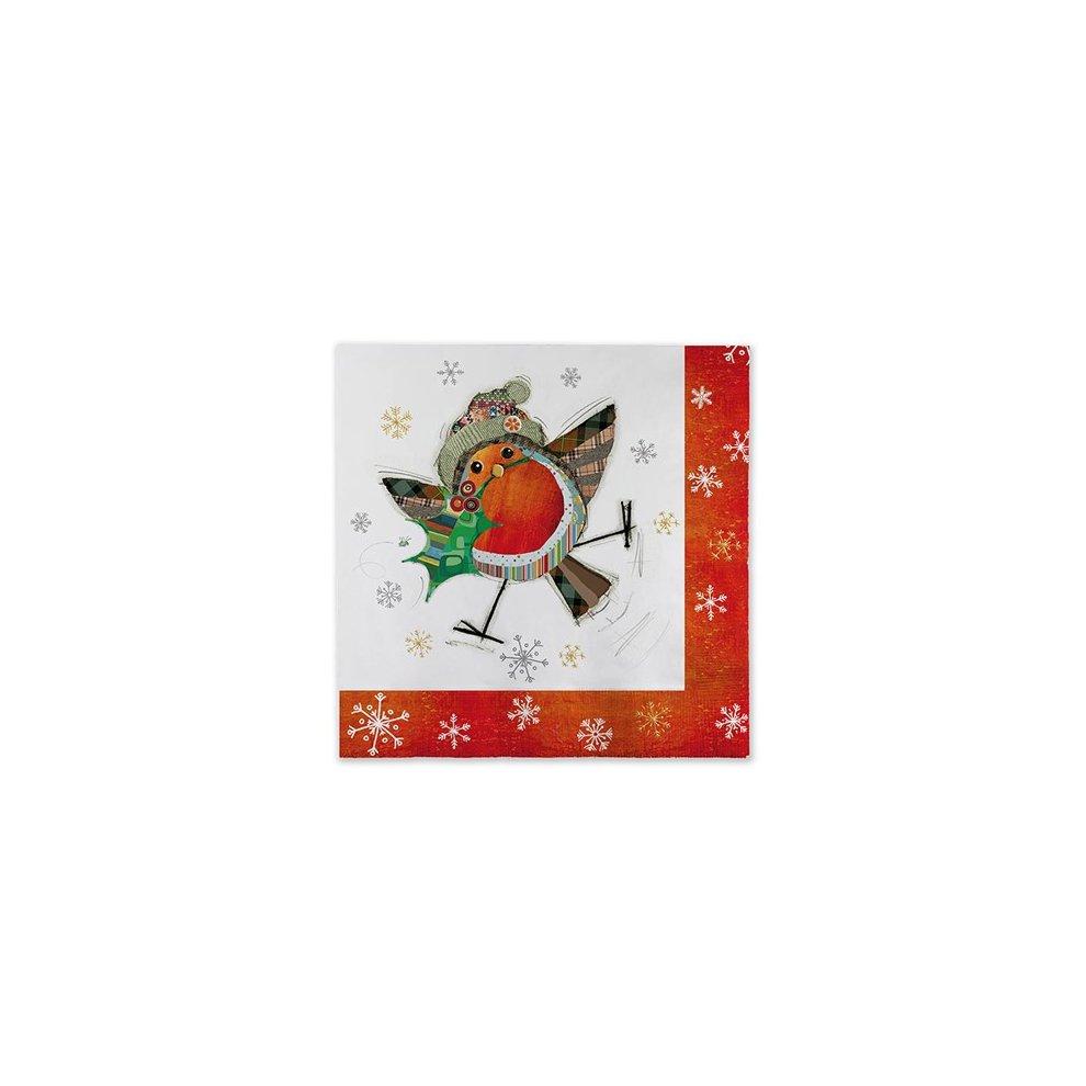 Kooks Xmas Party Napkin Rudolph Pack of 20