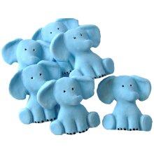 Baby Shower Christening Cake Decorations 6 Baby Elephants