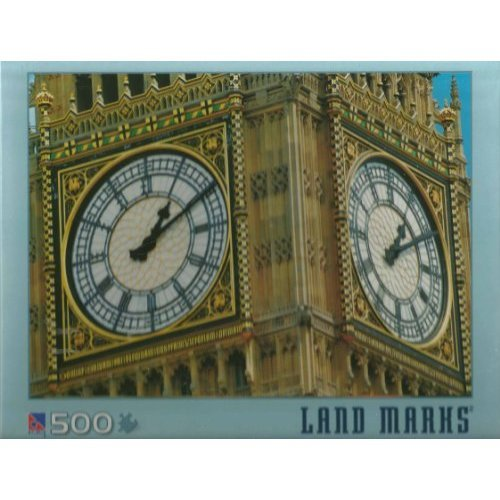 Big Ben Land Marks 500 Piece Jigsaw Puzzle By Sure Lox