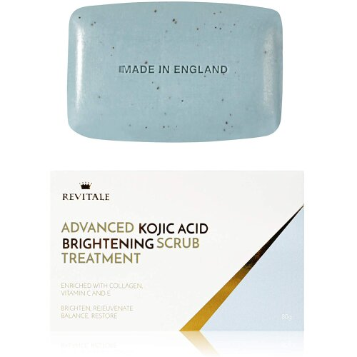 Revitale Advanced Kojic Acid Brightening Scrub Treatment Enriched with Vitamin C, E