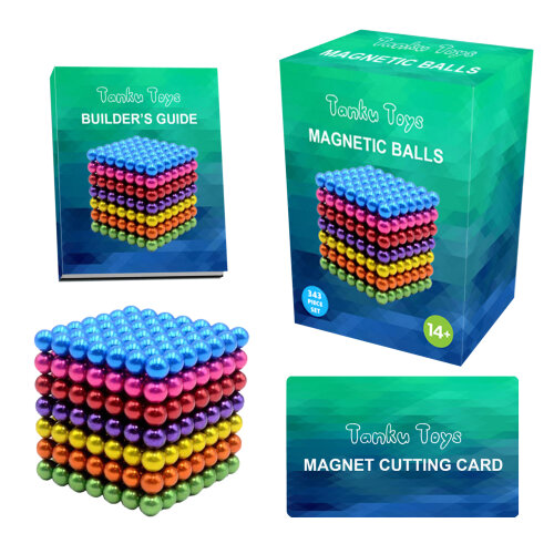 Magnetic Building Balls Set *343PCS 5MM*| Fidget Toy for Stress Relief and Anxiety