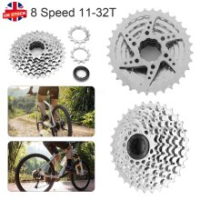 8 Speed 11-32T Wide Ratio MTB Mountain Bike Bicycle Cassette