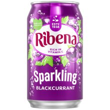 Ribena Sparkling Blackcurrant Cans - 24x330ml