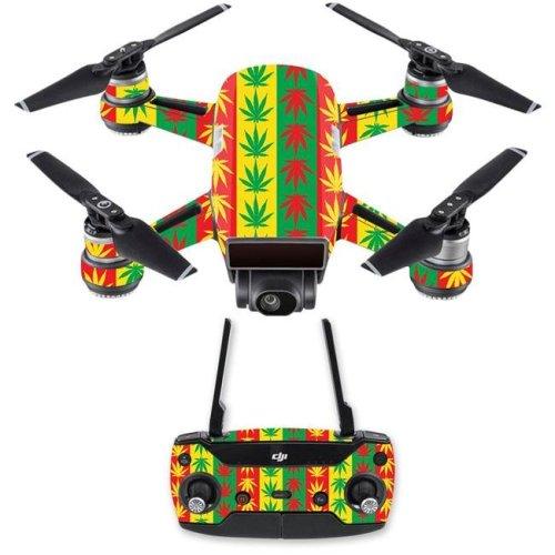 MightySkins DJSPCMB-Mary Jane Skin Decal for DJI Spark Mini Drone Combo Sticker - Mary Jane