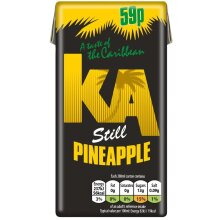KA Still Pineapple Juice Drink 288ml x27