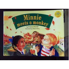 Minnie Meets A Monkey Longman Book Project Read Early Years - Used