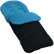 Footmuff / Cosy Toes Compatible with Nuna Ivvi Pushchair Ocean Blue