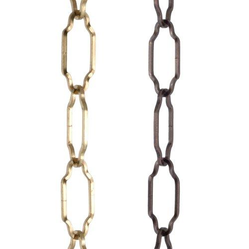 ElekTek Gothic Open Link Chain for Chandelier & Lighting 45mm x 19mm Per Linear Metre