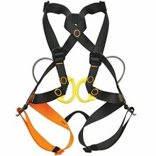 reduces weight and allows the belay even from behind High resistance webbing with rolled terminal