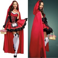 Little Red Riding Hood Womens Halloween Costume | Fancy Dress Costume