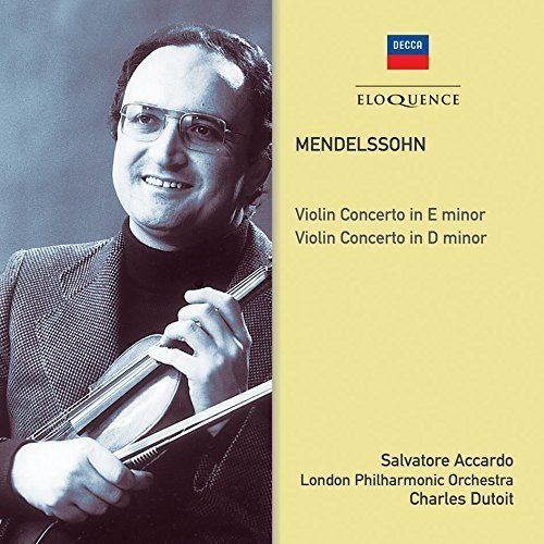 London Philharmonic, Charles Dutoit Salvatore Accardo - Mendelssohn: Violin Concertos [CD]