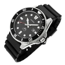 Casio MDV106-1A Men's Analogue Sports Watch - Black | Diving Watch