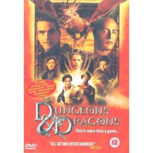 Dungeons & Dragons - The Movie DVD [2001]