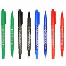 Twin Tip Fine & Ultra Fine Point Permanent Marker Pens
