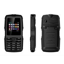 BOSS62 1.8 inch 1000mAh FM Radio bluetooth Whatsapp Flashlight Dual SIM Card Feature Phone BLACK COLOR